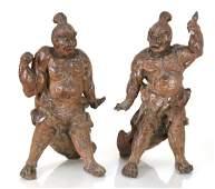 Pair of Nio Temple Guardians