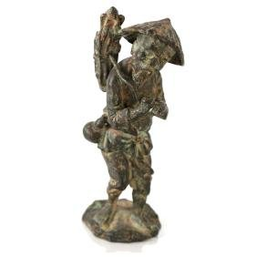 Chinese Bronze - Fisherman
