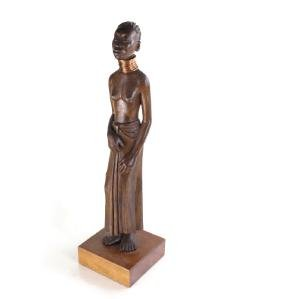 Harmon Heckart, Ethnic Wood Figure