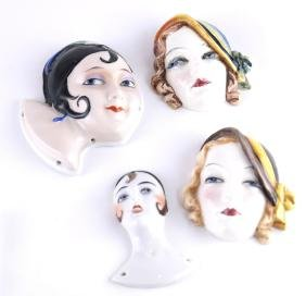 Keramos, Four Porcelain Heads