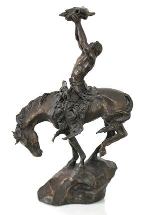McCain, Native American Bronze