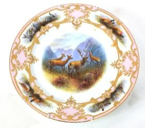 Hand-Painted Limoges Charger
