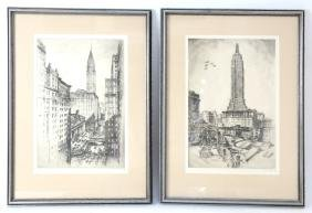 Anton Schlitz, NYC - Etchings