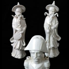 Three Porcelain Items - Lenwile +