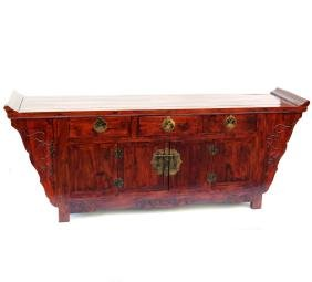 Incised Chinese Sideboard