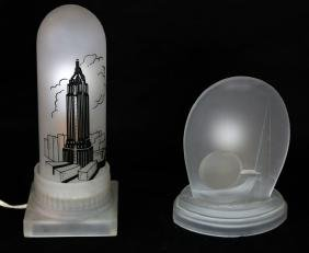 2 Lamps: Worlds Fair, Empire State Bldg