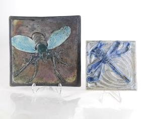 Two Art Pottery Tiles