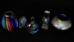 Assorted Lot of Art Glass