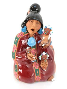 Jil Gurule Ceramic Figure