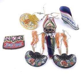 Textiles, Purses, Shoes, more