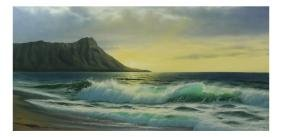 Anthony Casay, Seascape - Painting