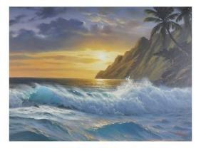 Anthony Casey, Landscape Scene -  O/C