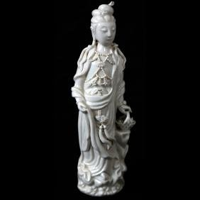 Chinese Blanc de Chine Figure of Female