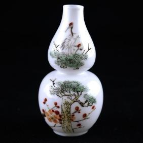Miniature Chinese Eggshell Vase