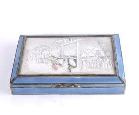 Austrian Silver and Enamel Box