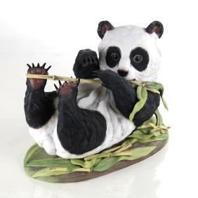Boehm Porcelain Panda Cub Figure