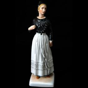 Allach German Porcelain Female Figure