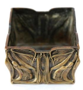 Art Nouveau Bronze Planter