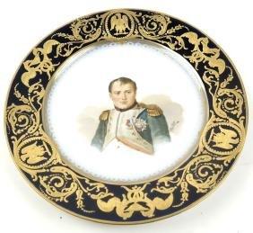 Sevres Napoleonic Plate