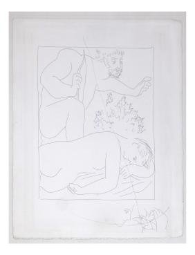 Pablo Picasso, Etching