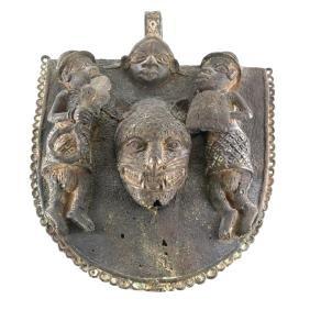 Bronze Tibetan Shield