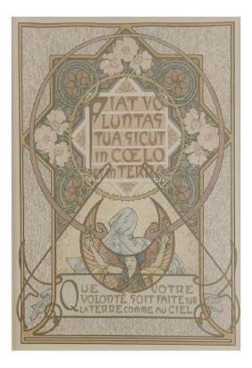 """A. Mucha, """"Le Pater"""" Chromolithograph"""