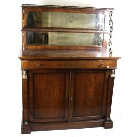 Regency-Style Server with Top