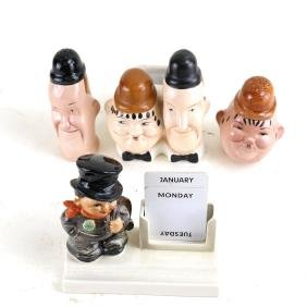 Laurel and Hardy Salts, Vessel, other