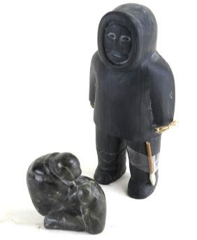 Two Inuit Sculptures