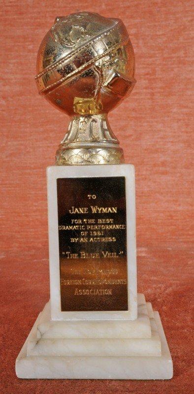 """251: Golden Globe Award 1951, Jane Wyman in """"Blue Velve"""