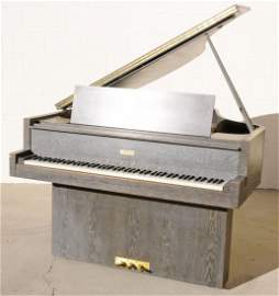 180: 1938 STEINWAY OAK MONITOR GRAND PIANO. SERIAL # 29