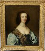 178: ANTIQUE OIL PTG. CNV. OF THE COUNTESS OF OXFORD. D
