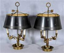 165 PR FRENCH BOULLIOTTE LAMPS