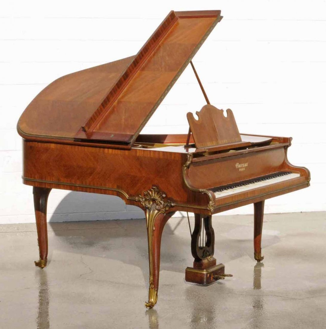 176: ANT FRENCH GAVEAU LOUIE XV STYLE GRAND PIANO