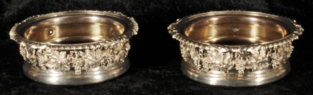 PR. 19th C. ENGLISH SHEFFIELD PLATED WINE COOLERS. APPL