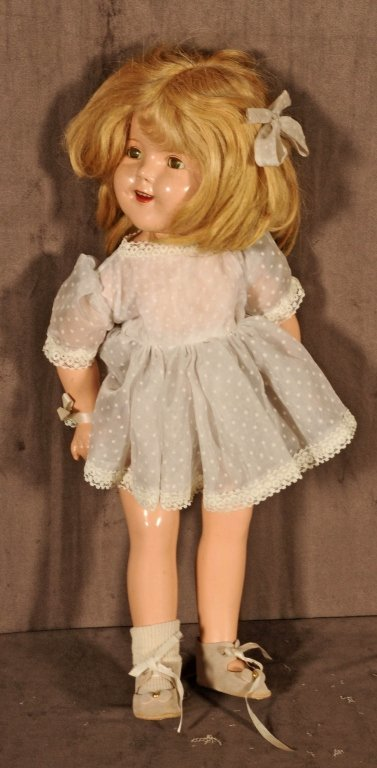 """""""IDEAL """"  MANUFACTURER,  SHIRLEY  TEMPLE  DOLL. GOOD. 1"""
