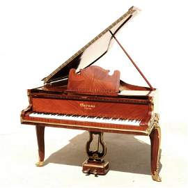 ANTIQUE  FRENCH GAVEAU LOUIS XV STYLE GRAND PIANO WITH