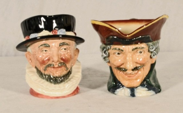 """2 ROYAL DOULTON TOBY JUGS.  CONSISTING  OF """"BEEFEATERS"""""""