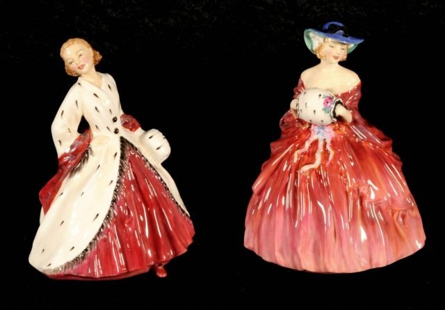 """2 ROYAL DOULTON FIGURINES.  CONSISTING OF """" THE ERMINE"""