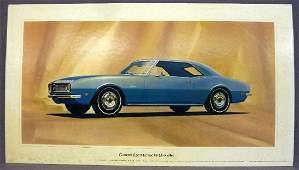 Rare 1960's Dealership Showroom Promo Poster of 1965