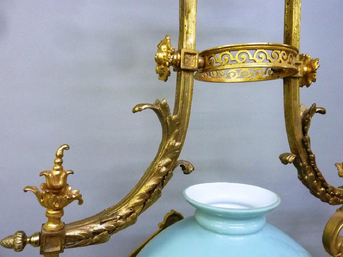 Early 20th Century Solid Bronze French Chandelier with - 5