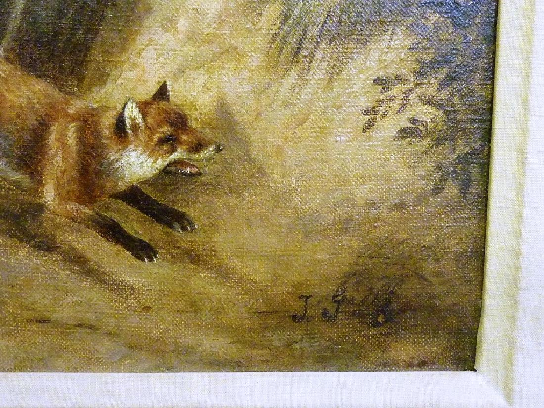 19th Century Oil on canvas,Signed lower right (Johanna - 3
