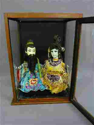 12: UNIQUE 19th/Early 20th CHINESE PUPPETS with PAPER M