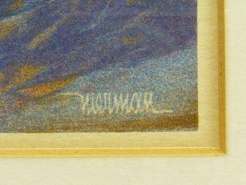 Two Leonardo Nierman Original Lithographs with Document - 3