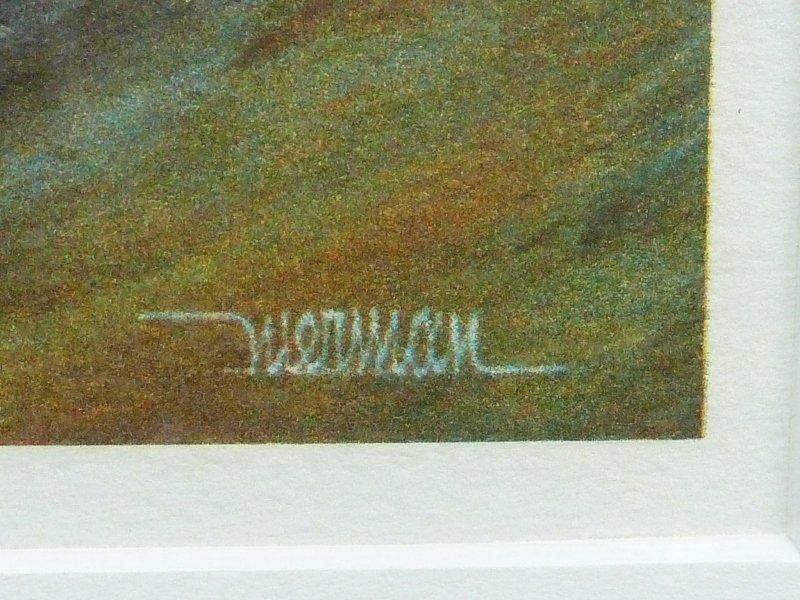 Two Leonardo Nierman Original Lithographs with Document - 8