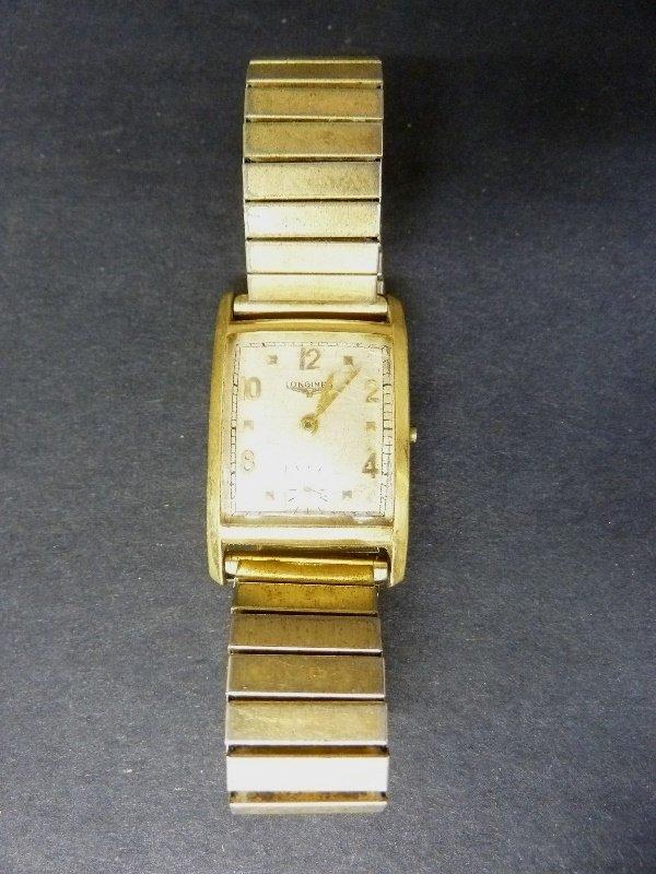 Vintage Marked 14K L&K Longines Gold Watch Engraved - 3