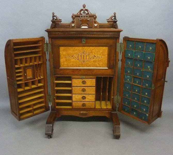 Signed (Wooton Desk Manufacturing Co. Indianapolis IND.