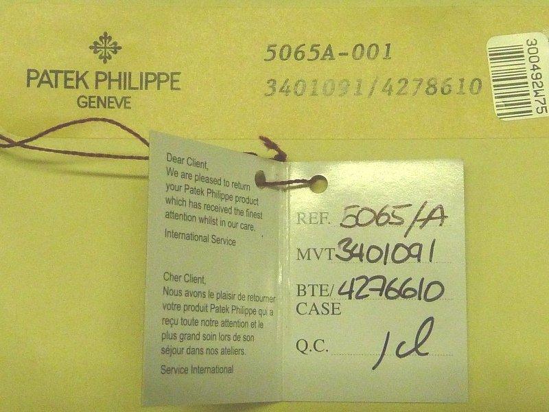 Patek Philippe Aquanaut Men's 38mm Wristwatch 5065/1A - - 6