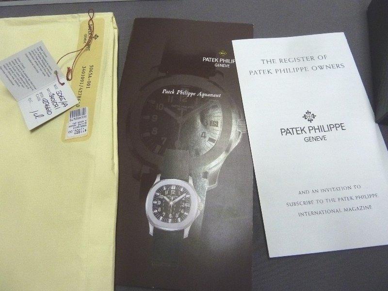 Patek Philippe Aquanaut Men's 38mm Wristwatch 5065/1A - - 8