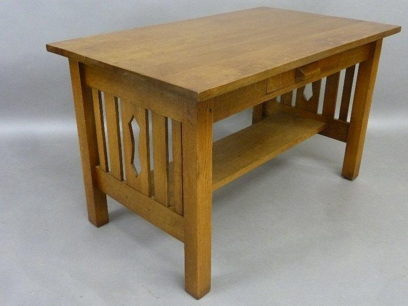Circa 1915 American Solid 1/4 cut Oak Arts and Crafts